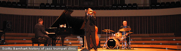 scotty barnhart history of jazz clinic
