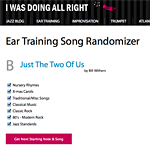 simple song ear trainer