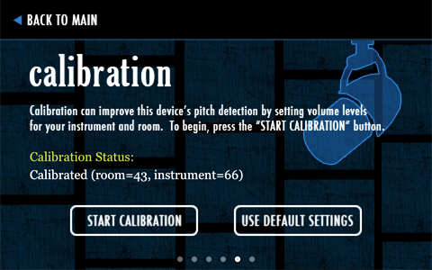 play by ear - calibration
