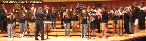 high school trumpet ensemble